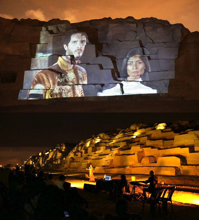 Show touring Huacas The Last Inca Princess